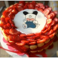 torta di compleanno per mia sorella e brava me!