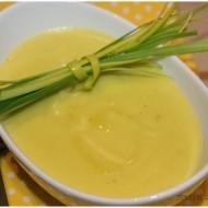 Crema di porri e patate profumata alla curcuma