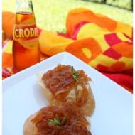 Cipolle caramellate al Crodino …. Alla scoperta dell'analcolico biondo
