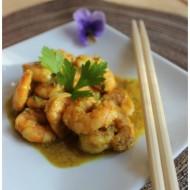 Gamberi al curry e salsa di cocco e la nuova iniziativa #scambioricette
